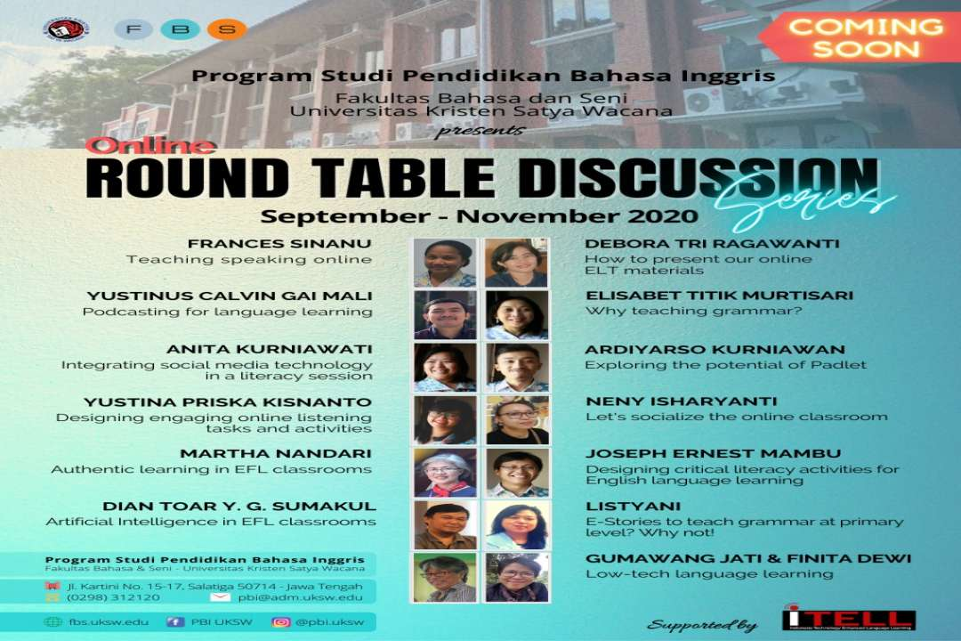 Online Round Table Discussion Series By PBI FBS UKSW